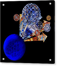 Meteor Rising Acrylic Print