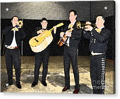 Mex Band Acrylic Print by Brent Easley
