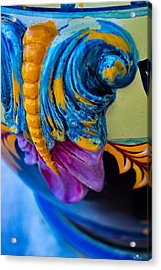 Mexican Ceramic Acrylic Print by Russ Harris