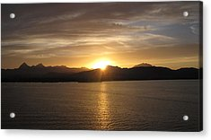 Acrylic Print featuring the photograph Mexican Sunset by Marilyn Wilson