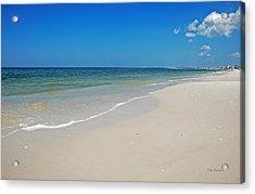 Mexico Beach Acrylic Print