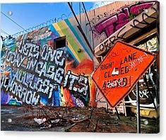 Miami Wynwood Graffiti  Acrylic Print