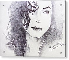 Michael Jackson - Nothing Compared To You Acrylic Print