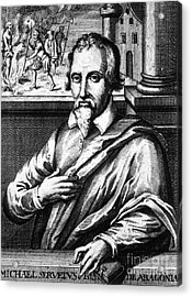 Michael Servetus, Spanish Polymath Acrylic Print by Science Source