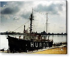Michigan Lake Huron - The Huron Lightship  Acrylic Print