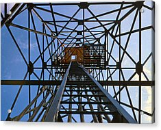 Microwave Tower Acrylic Print by Chuck Staley