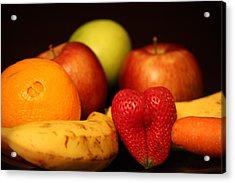 Mid Night Snack Acrylic Print by Andrea Nicosia