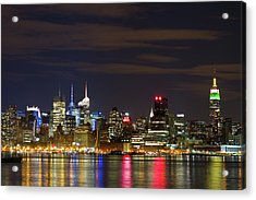 Mid Town Manhattan Acrylic Print by Shabdro Photo