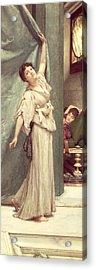 Midday Slumbers  Acrylic Print by Sir Lawrence Alma-Tadema