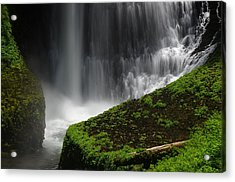 Middle North Falls Closeup Acrylic Print