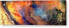Middle Sky On The Suns Road Acrylic Print by Dayton Claudio