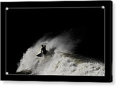 Acrylic Print featuring the digital art Midnight 02 by Kevin Chippindall