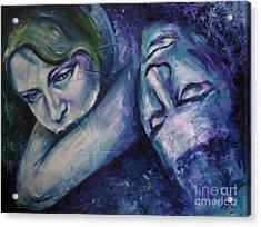 Midnight Acrylic Print by Iglika Milcheva-Godfrey