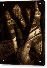 Midnight Mantis Acrylic Print