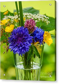 Midsummer In A Glass Acrylic Print