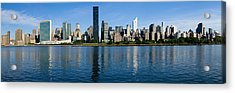 Midtown Manhattan Across The East River Crop3 Acrylic Print