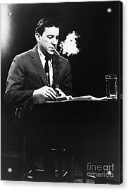 Mike Wallace (1918-2012) Acrylic Print by Granger