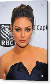 Mila Kunis At Arrivals For Ifps 20th Acrylic Print
