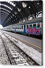 Milan Italy Fine Art Print Acrylic Print by Ian Stevenson