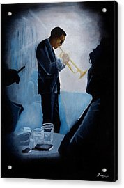Mile Davis - Kind Of Blue Acrylic Print by Brien Cole