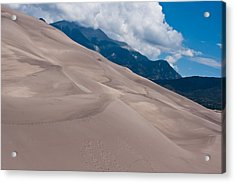 Miles Of Sand Acrylic Print by Colleen Coccia