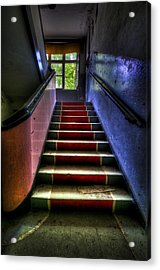 Military Steps Acrylic Print by Nathan Wright