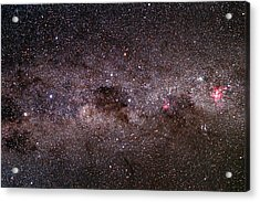 Milky Way Acrylic Print by Dr Fred Espenak