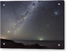 Milky Way Over Flinders, Australia Acrylic Print by Alex Cherney, Terrastro.com