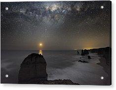 Milky Way Over Shipwreck Coast Acrylic Print by Alex Cherney, Terrastro.com