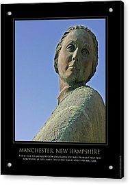 Mill Girl Acrylic Print by Jim McDonald Photography