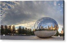 Millennium Park Chicago Acrylic Print