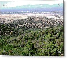 Miller Peak View  Acrylic Print