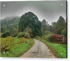 Acrylic Print featuring the photograph Mills Ridge by Janice Spivey
