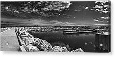 Milwaukee Breakwater Acrylic Print