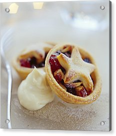 Mince Pies Acrylic Print by David Munns
