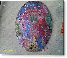 Mind Flick Acrylic Print by Jennie  Bailey