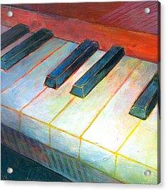 Mini Keyboard Acrylic Print by Susanne Clark