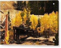 Mining Town Acrylic Print