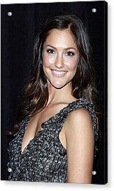 Minka Kelly In Attendance For The 9th Acrylic Print by Everett