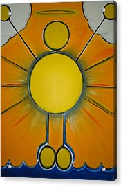 Miracle - Any Amazing Or Wonderful Occurrence. Acrylic Print by Cory Green