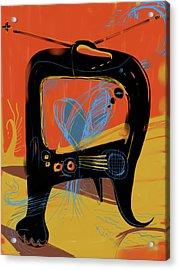 Miro Andmax Watch Lucy Acrylic Print by Russell Pierce
