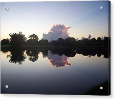 Acrylic Print featuring the photograph Mirror Image by Sheila Silverstein