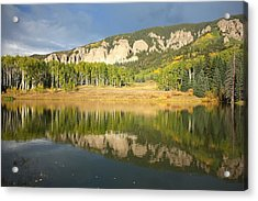 Acrylic Print featuring the photograph Mirror Lake  by Drusilla Montemayor