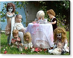Misfit Tea Party Acrylic Print