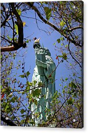 Acrylic Print featuring the photograph Miss Liberty by Paul Mashburn