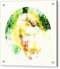 Miss. Sunshine 2 Acrylic Print by Greta Thorsdottir
