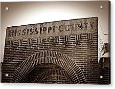Missco High School In Arkansas Acrylic Print