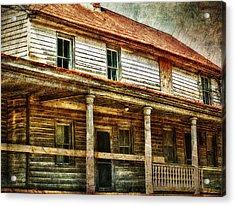 Missing A Window Acrylic Print by Kathy Jennings