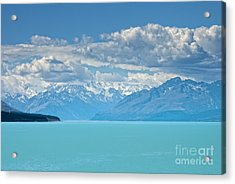 Missing In The Blu Acrylic Print by Roberto Bettacchi