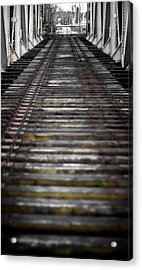 Acrylic Print featuring the photograph Missing Tracks by Matti Ollikainen